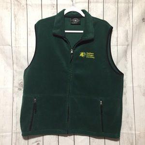 Northern Michigan NMU Wildcats Fleece Vest Mens L